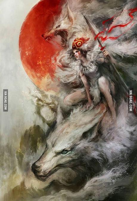 Wolf Princess Mononoke 9gag