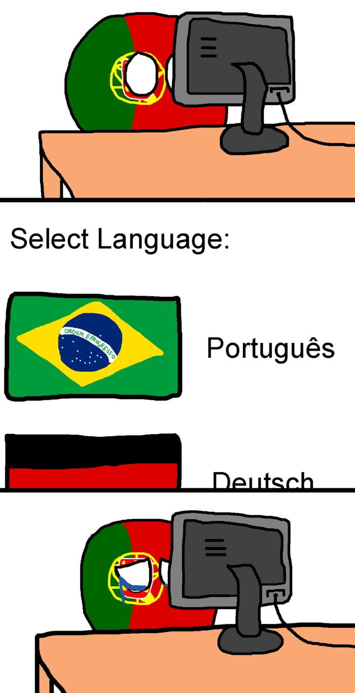 Portuguese can relate. PORTUGAL C*****O
