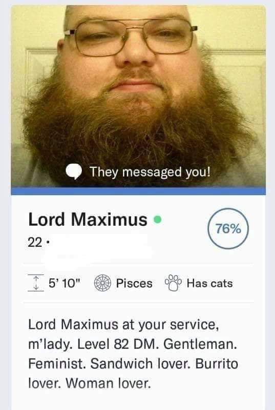 The perfect man doesn't exi...