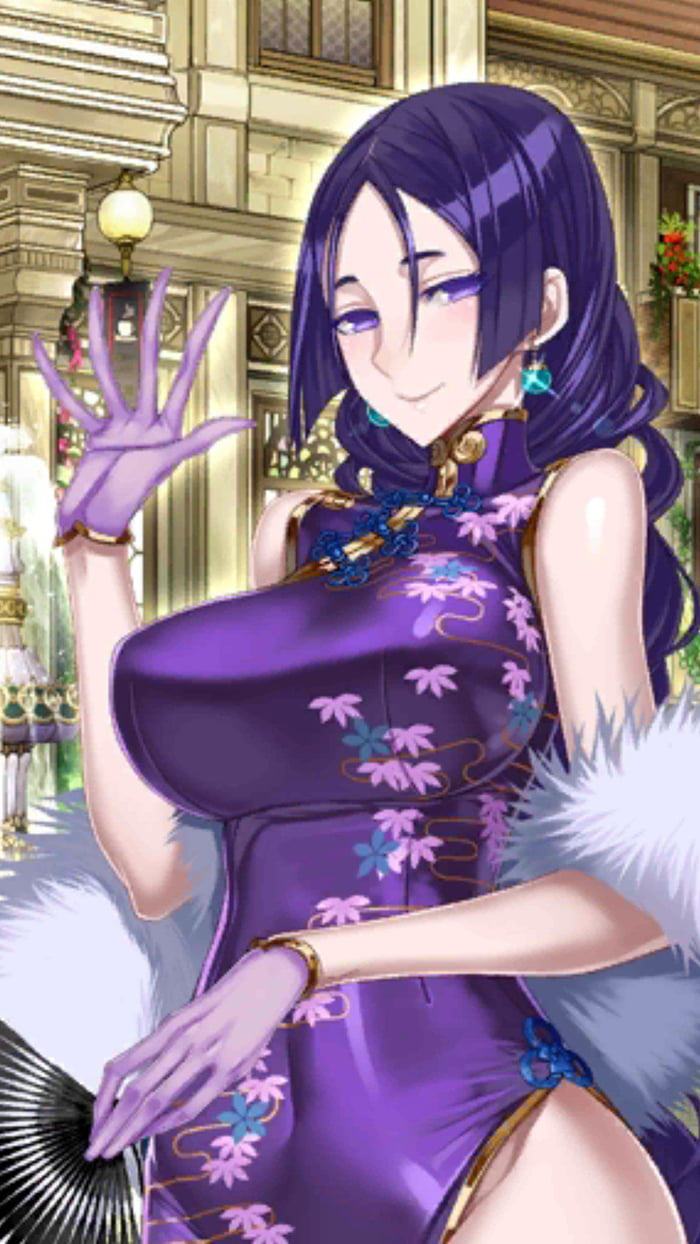 Raikou wearing Chinese dress