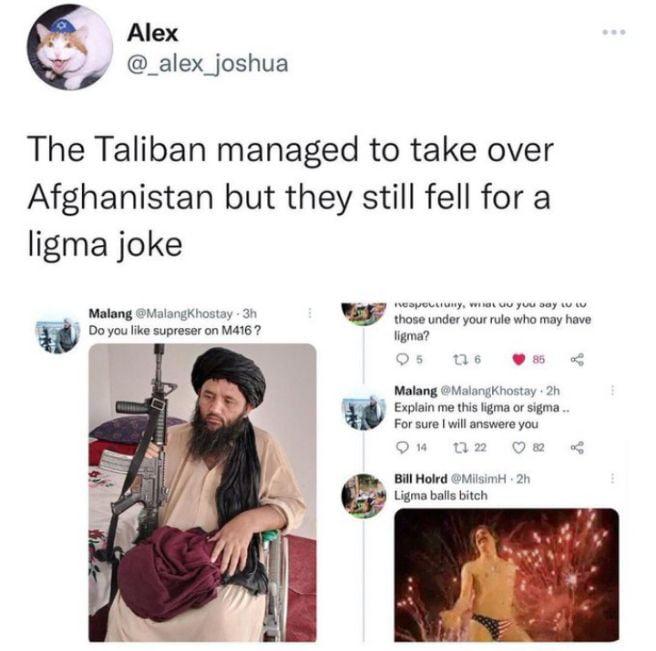 Uncultured taliban