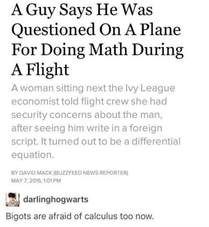 TSA now screens for f**king nerds.
