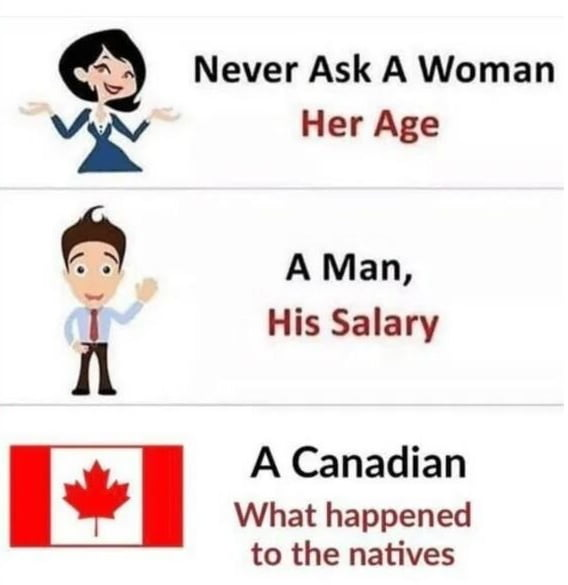 Never ask...