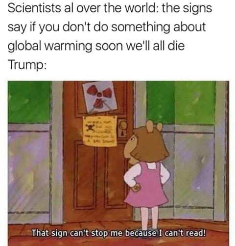 Global warming doesn't exists