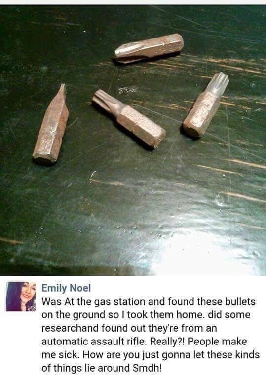 If those bullets hit you, you're screwed