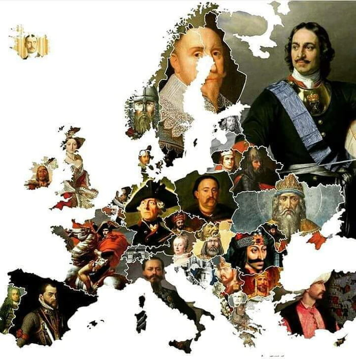 Most known ruler of every european country, can you guess every each one of them?