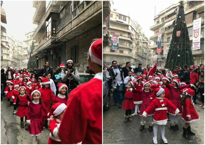 how to say merry christmas in syria