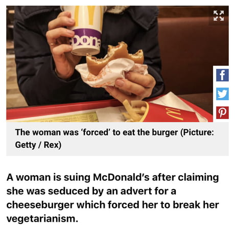 You don't blame Ronald