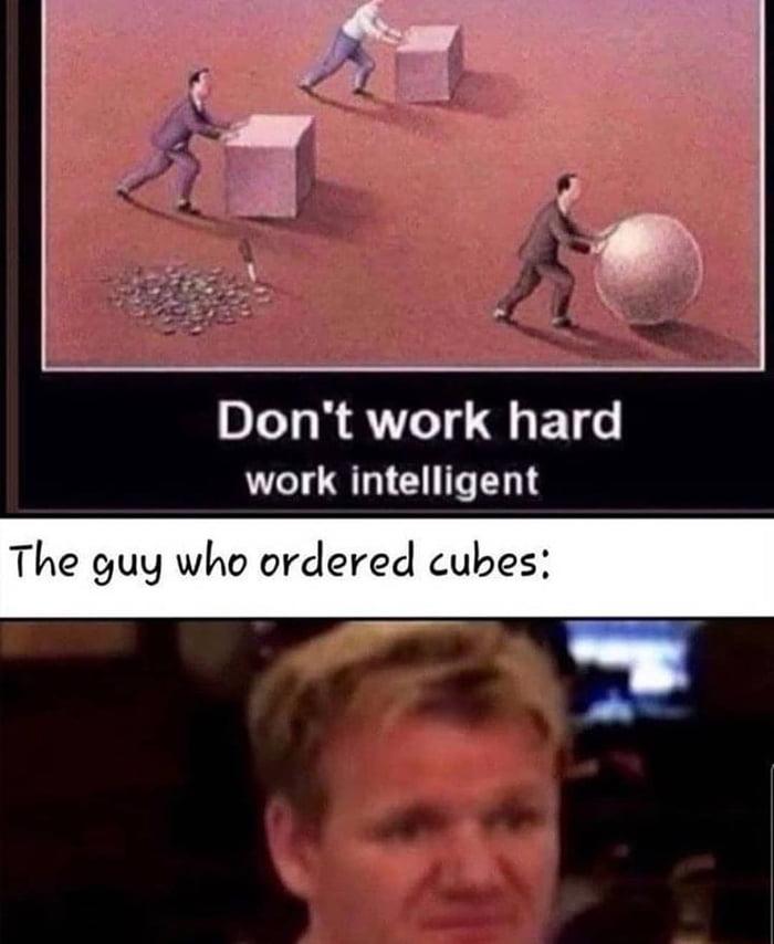 Working smart backfired....