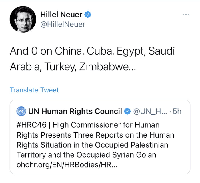 Who doesn't just love the UN :)