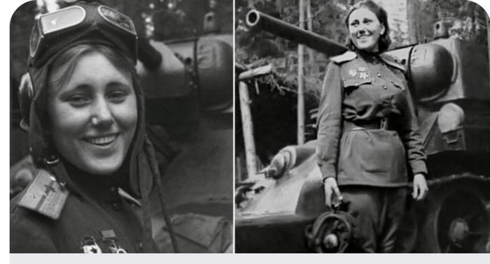 """Mariya Oktyabrskaya who sold everything she had to get a tank built, asked to pilot it, took it into war, and died fighting the Germans. Instead of forcing """"strong"""" women in garbage movies, how about a movie about her?"""