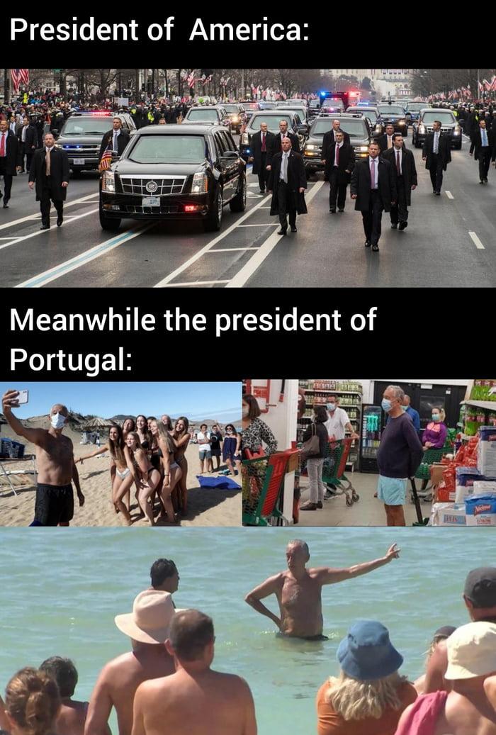 Marcelo, leader of Portugal, stealer of women