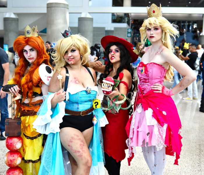 Nintendo Princesses by S.T.A.R. Cosplay