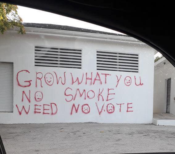 Grow what you no smoke weed no vote