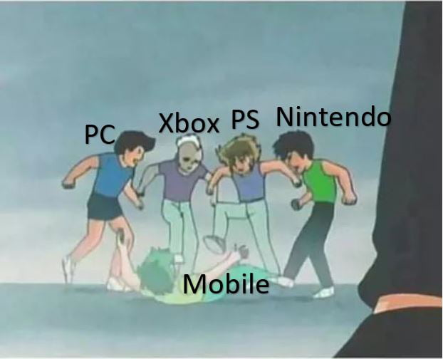 Gaming community when someone says he is gamer, a mobile gamer
