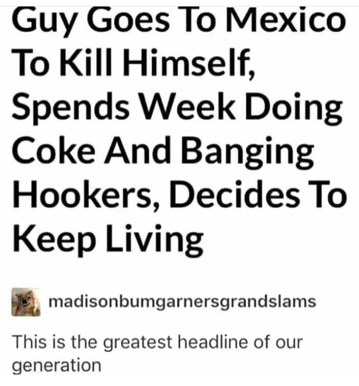 The Greatest Headline