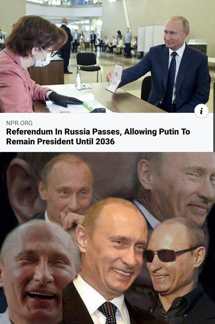Putin in 16 years more of Putin