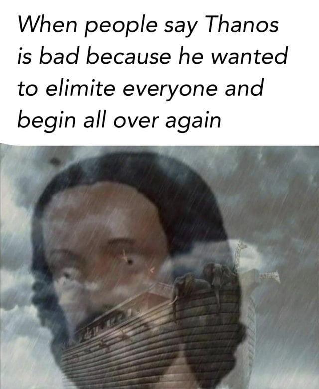 Beard man bad