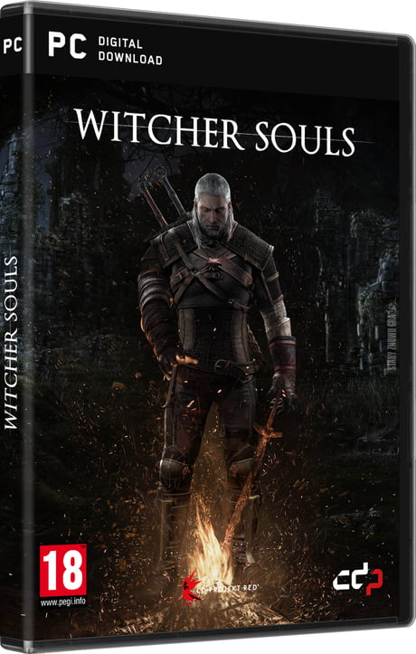Who would play Geralt in souls-like game?