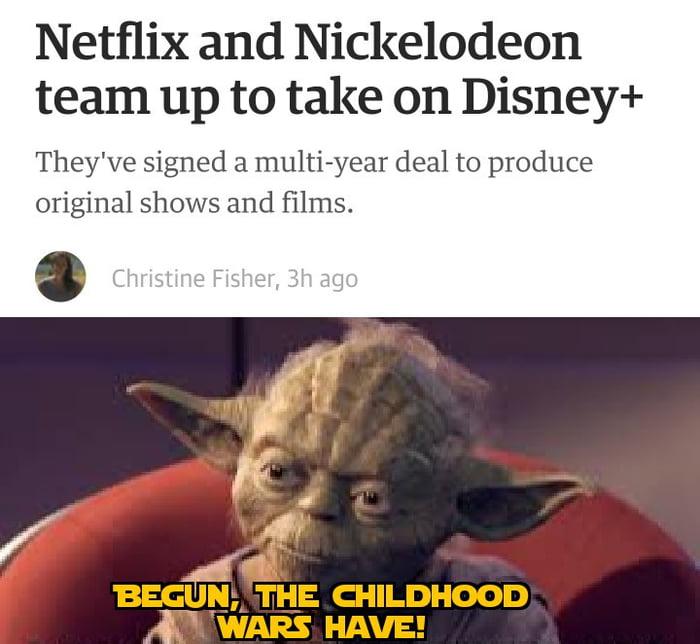 Begun, the childhood wars have