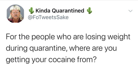 It's not the cocaine it's the anxiety