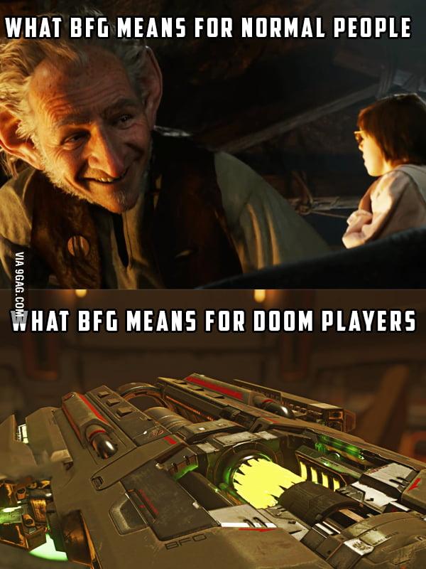 what BFG means : Doom