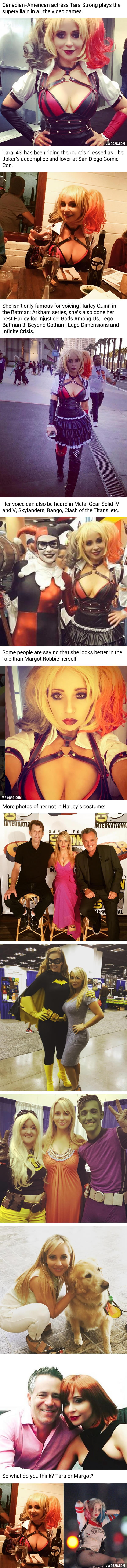 This Woman Plays Harley Quinn In All The Video Games...