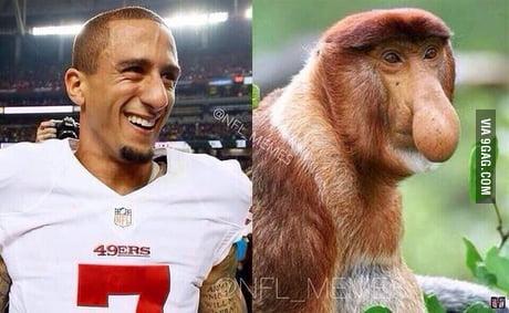Kaepernick Look Alike