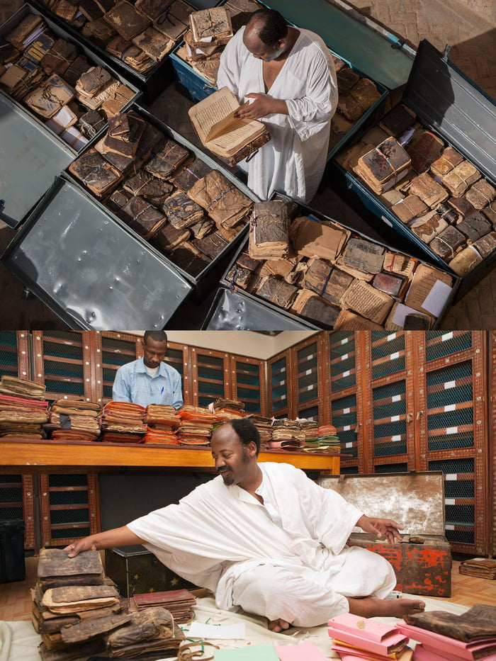 Meet Abdel Kader Haidara, the man who risked his life to save more than 350,000 ancient manuscripts from Timbuktu from being destroyed by Al-Qaeda.