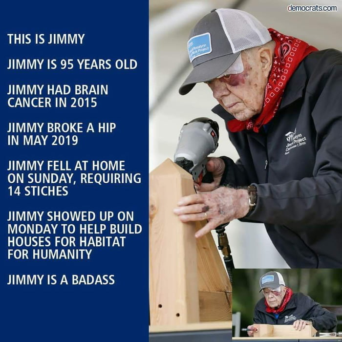We can't all be just like Jimmy, but we could try.
