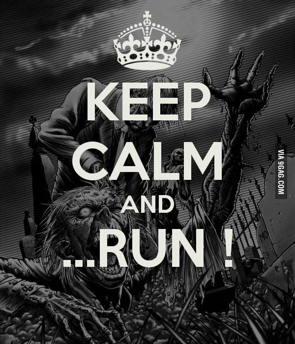 Run, Zombie, RUN!