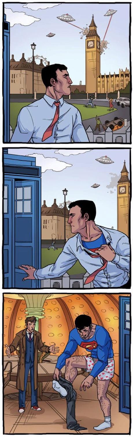 Superman in London