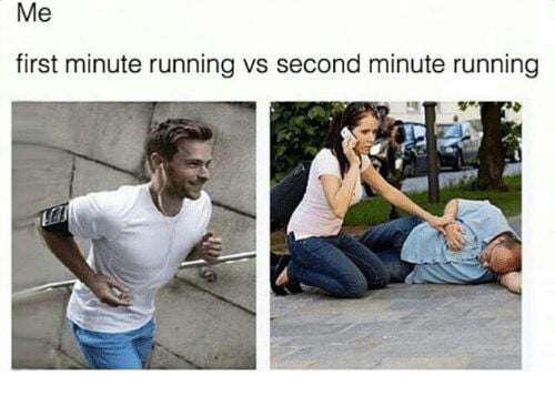 Running is terrible!