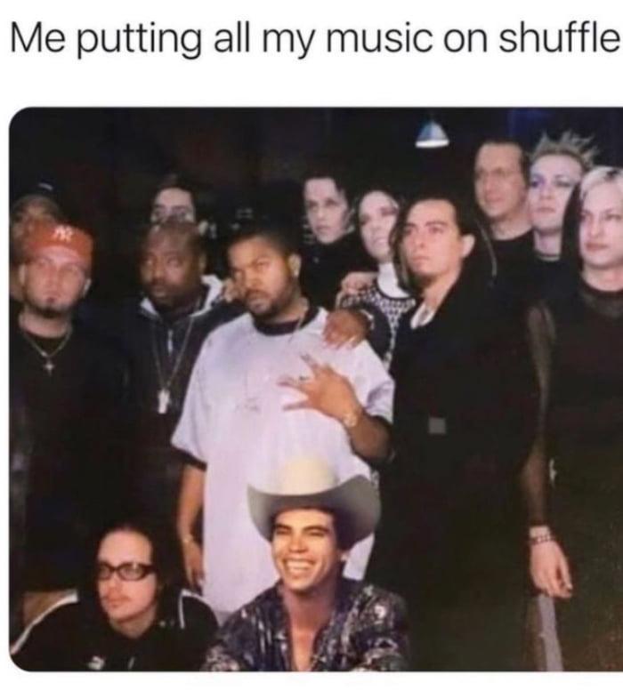 Playlist be like