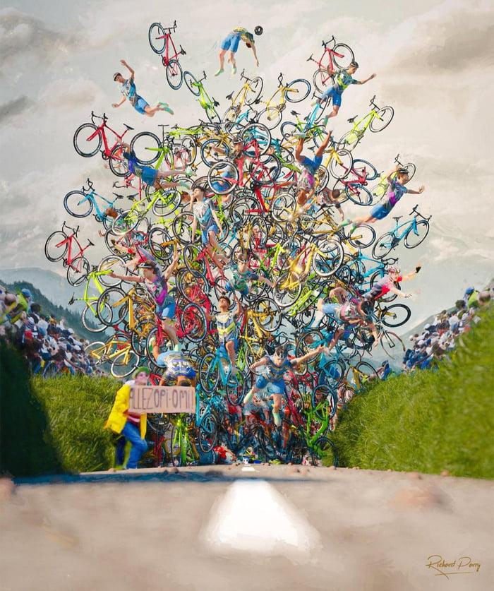 Art of Tour De France.