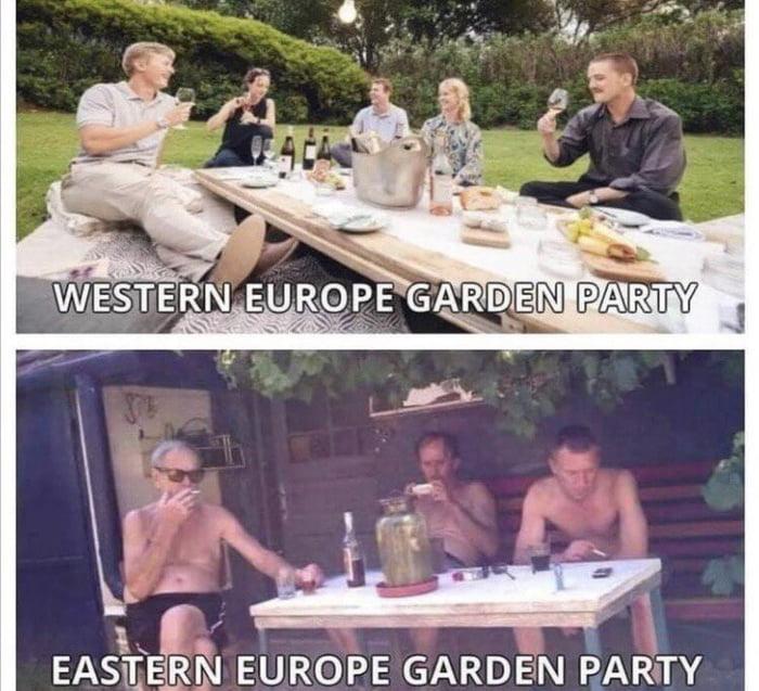 As an Eastern European, this is pretty accurate.
