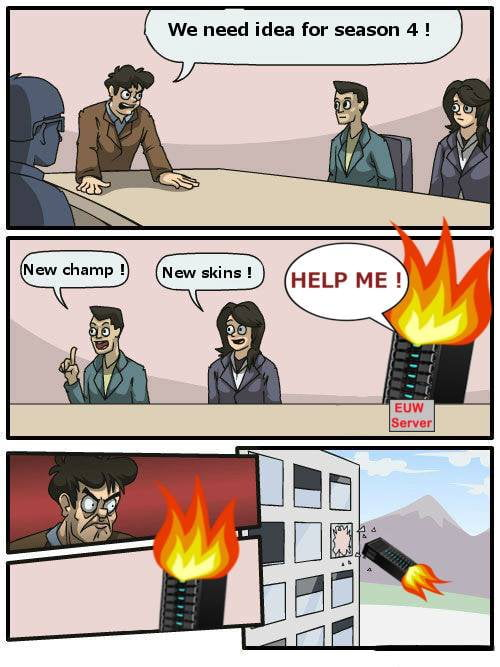 Meanwhile at Riot Games...