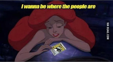 This is how I feel seeing SDCC pictures