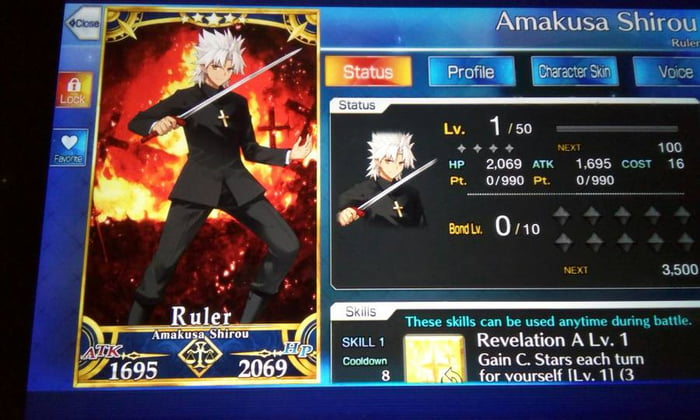 Decided to roll on my secondary account that I haven't touched in a long while, got this and probably ran out of luck for J'alter