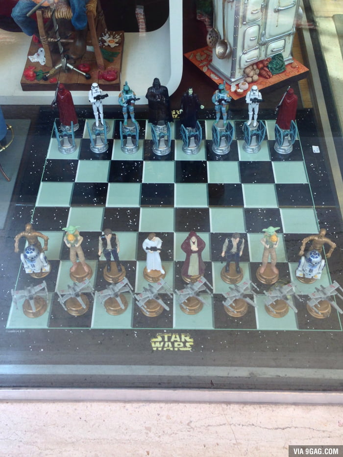 Star Wars chess set! My life is complete!