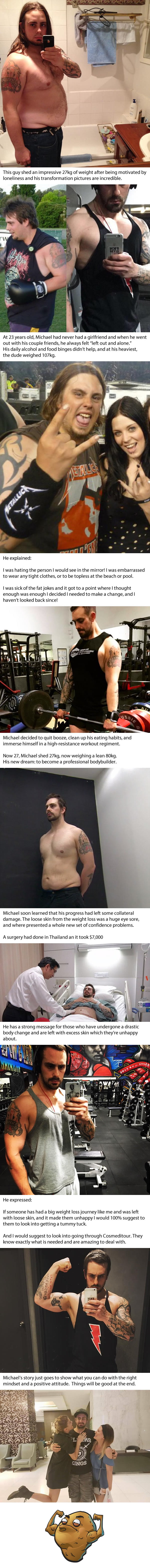 Forever Alone Dude Loses Weight And Is Now A Shredded Body Builder