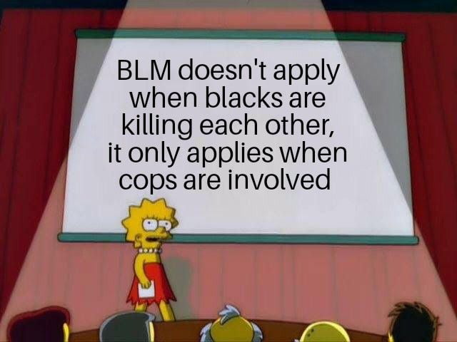 BLM doesn't care all black lives