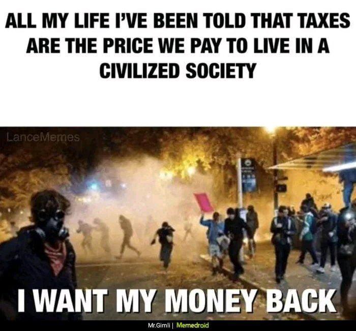 Society goes brrr