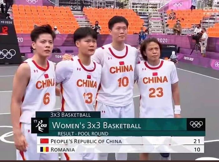 "China's ""WOMEN"" 3x3 Basketball Team"