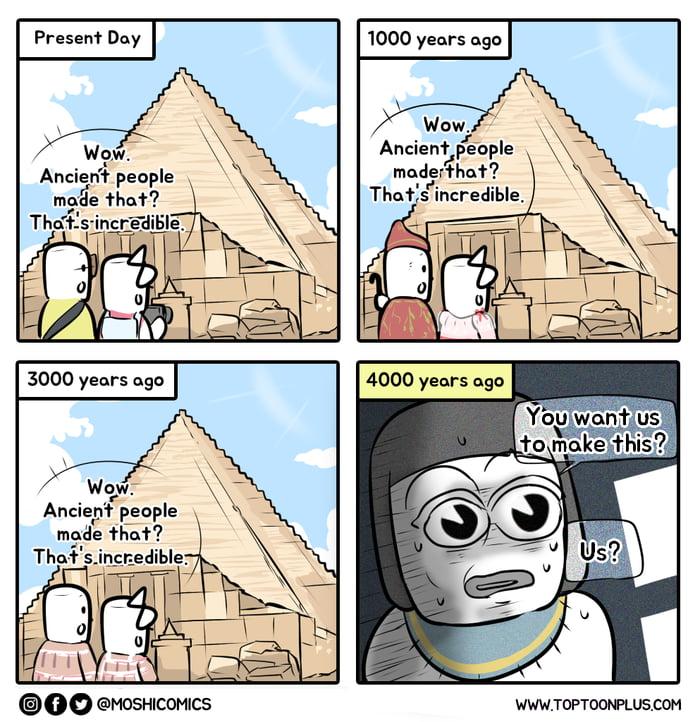 The secret of the Pyramids