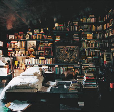 Awesome This beautiful room of books