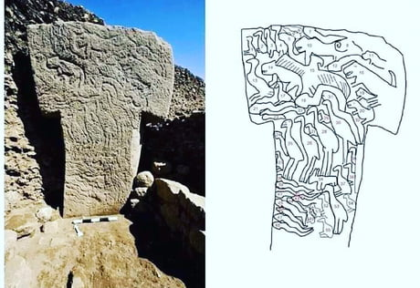 Awesome Drawings from world oldest (11,000 years) temple.