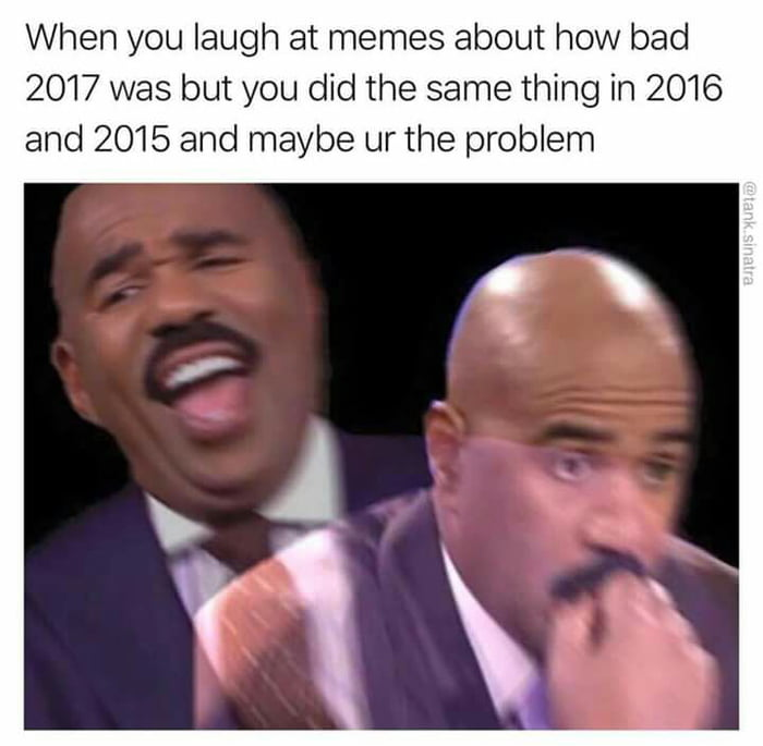 20 Best Memes and funny pictures of the last day of 2017, happy new year 2018