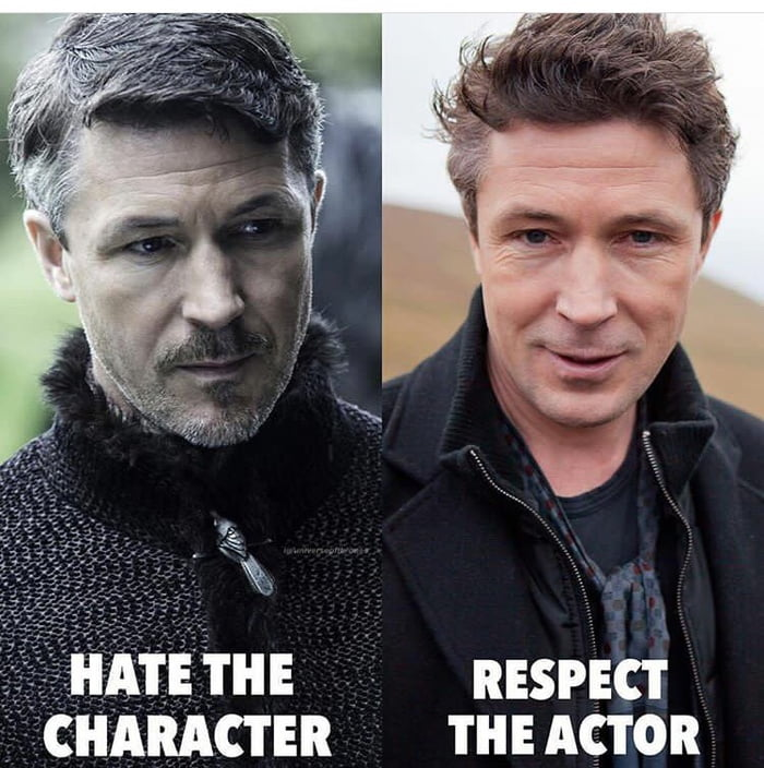 You know his acting on point when you hate his character