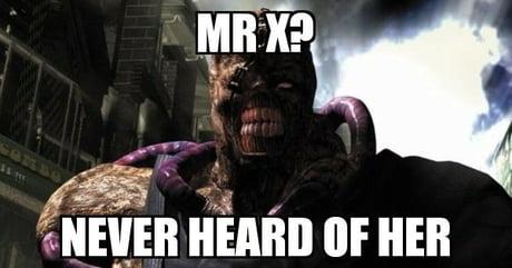 Nemesis Mr X 9gag